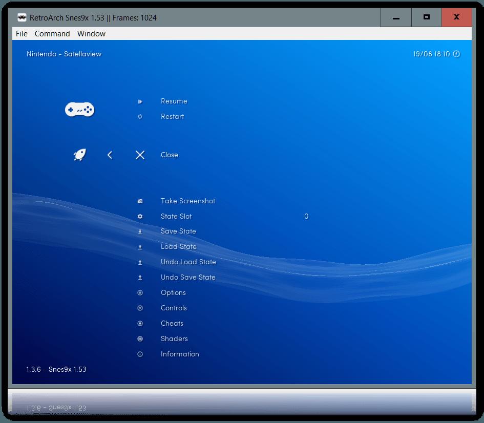 retroarch RGUI RetroArch   emulator do wszystkiego !