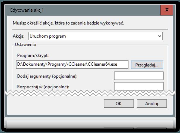 uac 2 Tworzymy skrót do aplikacji pomijający kontrolę konta użytkownika.