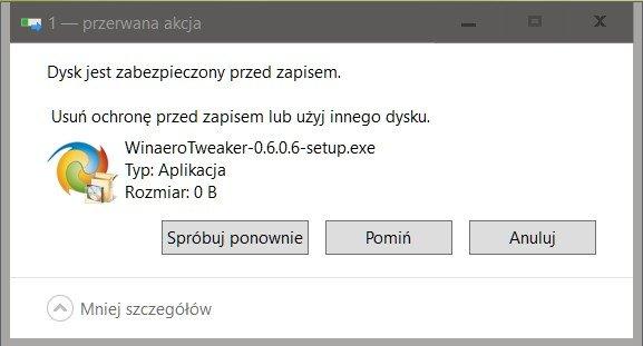 %name Podłączamy pamięci USB w trybie tylko do odczytu