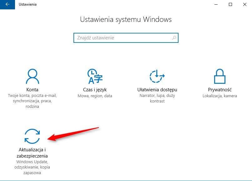ustawienia  Uniemożliwiamy systemowi Windows 10 restart w celu ukończenia aktualizacji.