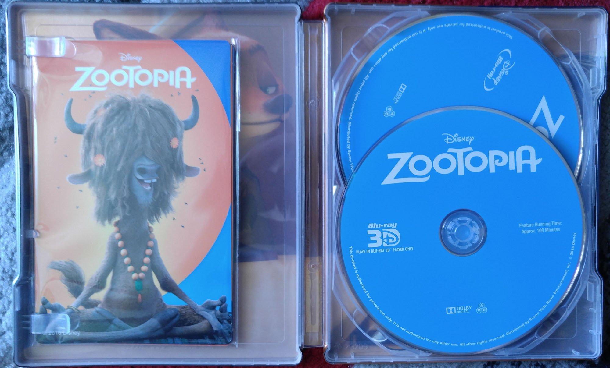 zootopia steelbook kimchi Jestem kolekcjonerę #2 Zootopia Kimchi Collection
