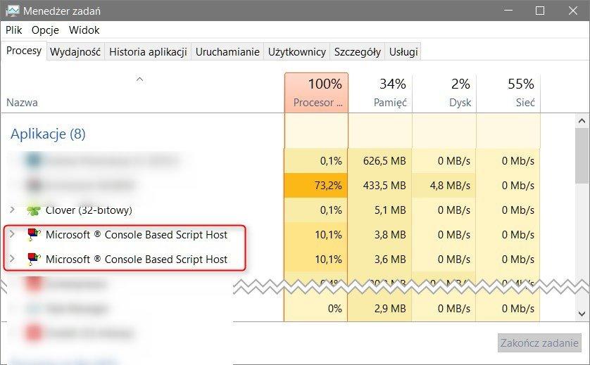 csscript Jak obciążyć nasz procesor w 100% w systemie Windows.